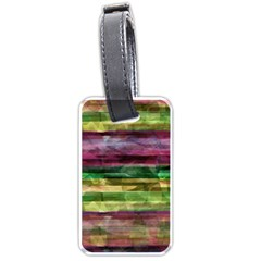Colorful marble Luggage Tags (Two Sides)