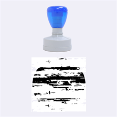 Colorful marble Rubber Round Stamps (Medium)