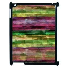 Colorful marble Apple iPad 2 Case (Black)