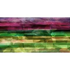 Colorful marble YOU ARE INVITED 3D Greeting Card (8x4)