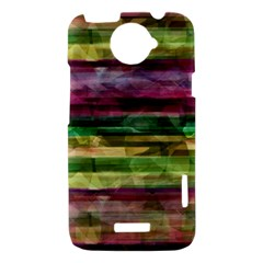 Colorful marble HTC One X Hardshell Case