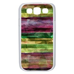 Colorful marble Samsung Galaxy S III Case (White)