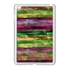 Colorful marble Apple iPad Mini Case (White)