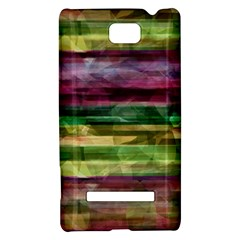 Colorful marble HTC 8S Hardshell Case