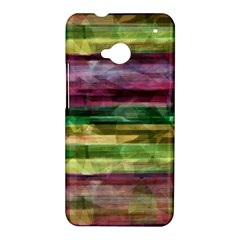 Colorful marble HTC One M7 Hardshell Case