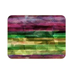 Colorful marble Double Sided Flano Blanket (Mini)