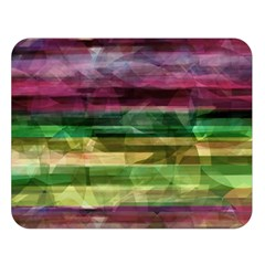 Colorful marble Double Sided Flano Blanket (Large)