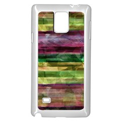 Colorful marble Samsung Galaxy Note 4 Case (White)