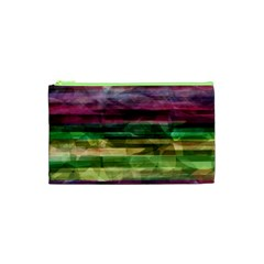 Colorful marble Cosmetic Bag (XS)