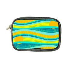 Yellow and blue decorative design Coin Purse