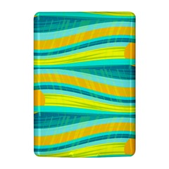 Yellow and blue decorative design Kindle 4