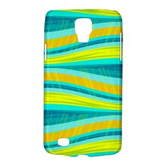 Yellow and blue decorative design Galaxy S4 Active