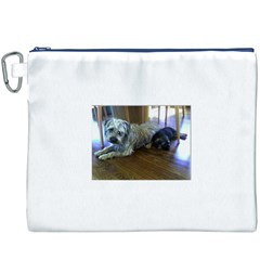Border Terrier Brothers Canvas Cosmetic Bag (XXXL)