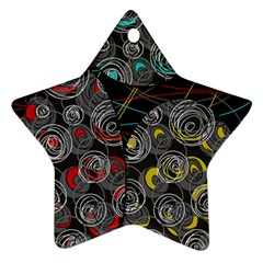Crush  Star Ornament (Two Sides)