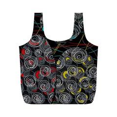 Crush  Full Print Recycle Bags (M)