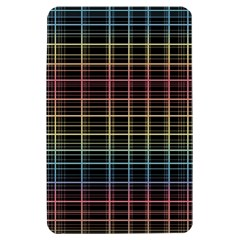 Neon plaid design Kindle Fire (1st Gen) Hardshell Case