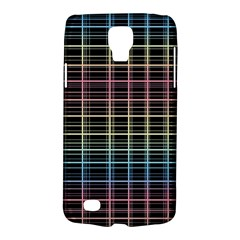 Neon plaid design Galaxy S4 Active