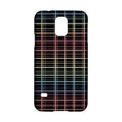 Neon plaid design Samsung Galaxy S5 Hardshell Case