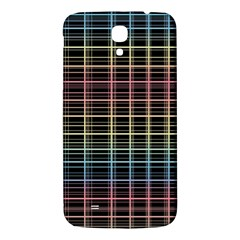 Neon plaid design Samsung Galaxy Mega I9200 Hardshell Back Case