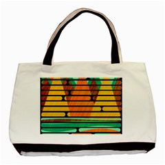 Decorative autumn landscape Basic Tote Bag (Two Sides)