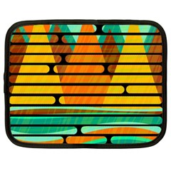 Decorative autumn landscape Netbook Case (XL)