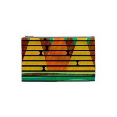 Decorative autumn landscape Cosmetic Bag (Small)
