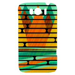 Decorative autumn landscape HTC Sensation XL Hardshell Case