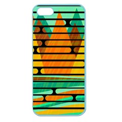Decorative autumn landscape Apple Seamless iPhone 5 Case (Color)