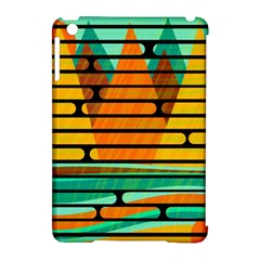 Decorative autumn landscape Apple iPad Mini Hardshell Case (Compatible with Smart Cover)