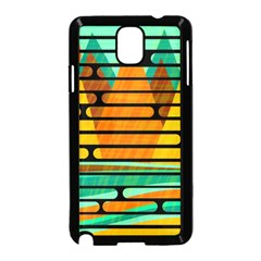 Decorative autumn landscape Samsung Galaxy Note 3 Neo Hardshell Case (Black)