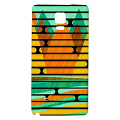 Decorative autumn landscape Galaxy Note 4 Back Case
