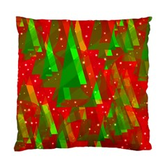 Xmas trees decorative design Standard Cushion Case (One Side)