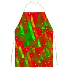 Xmas trees decorative design Full Print Aprons