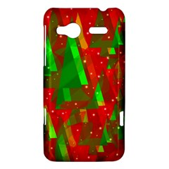 Xmas trees decorative design HTC Radar Hardshell Case