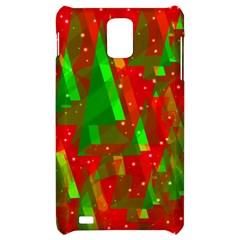Xmas trees decorative design Samsung Infuse 4G Hardshell Case