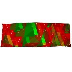 Xmas trees decorative design Body Pillow Case Dakimakura (Two Sides)