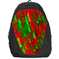 Xmas trees decorative design Backpack Bag