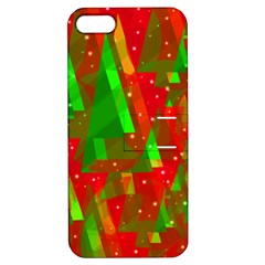 Xmas trees decorative design Apple iPhone 5 Hardshell Case with Stand
