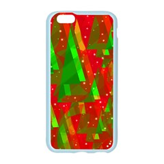 Xmas trees decorative design Apple Seamless iPhone 6/6S Case (Color)