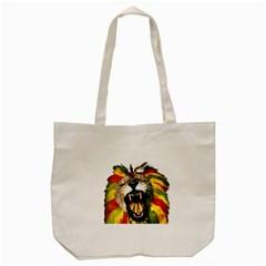 Reggae Lion Tote Bag (Cream)