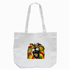 Reggae Lion Tote Bag (White)