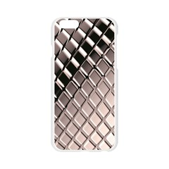 3d Abstract Metal Silver Pattern Apple Seamless iPhone 6/6S Case (Transparent)