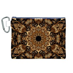 3d Fractal Art Canvas Cosmetic Bag (XL)