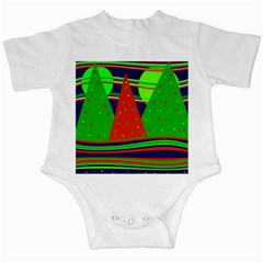 Magical Xmas night Infant Creepers