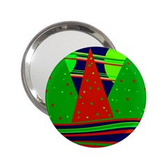 Magical Xmas night 2.25  Handbag Mirrors
