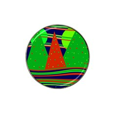 Magical Xmas night Hat Clip Ball Marker (10 pack)