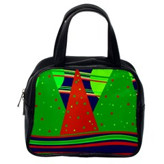 Magical Xmas night Classic Handbags (One Side)