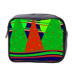 Magical Xmas night Mini Toiletries Bag 2-Side