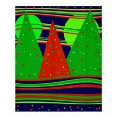 Magical Xmas night Shower Curtain 60  x 72  (Medium)