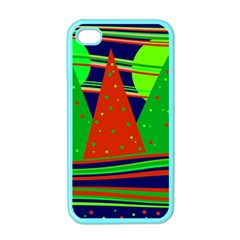 Magical Xmas night Apple iPhone 4 Case (Color)